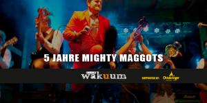 5 Jahre Mighty Maggots Header